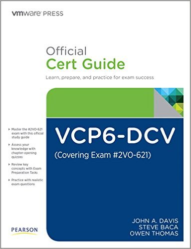 VCP6-DCV Certification Guide